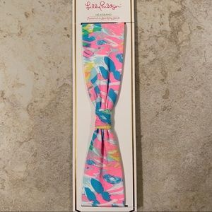 NWT Lilly Pulitzer Headband in Sparkling Sands